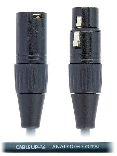 Cable Up MIC-D-XX-75 75 ft Analog/Digital AES/EBU Balanced XLR Microphone Cable MIC-D-XX-75
