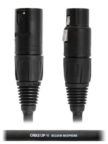 Cable Up by Vu MIC-AN-XX-20-STD 20 ft Neutrik XLR NC3FX Microphone Cable MIC-AN-XX-20-STD