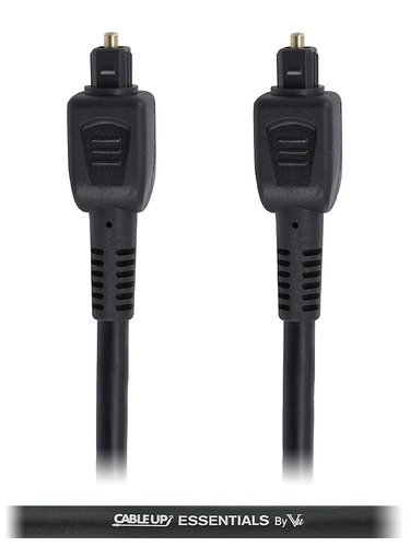 Cable Up by Vu OPT-10 10 ft TOSLINK Fiber Optic Cable OPT-10