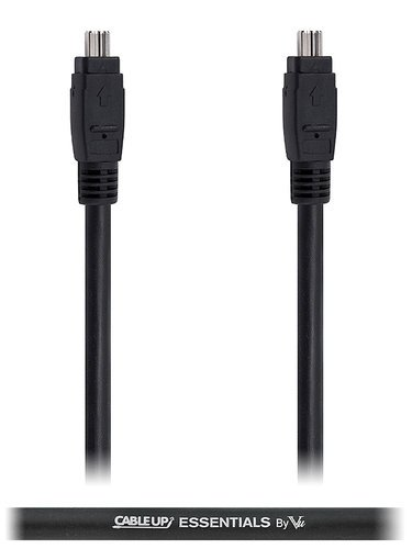 Cable Up by Vu FW4-FW4-10 10 ft 4-Pin to 4-Pin IEEE 1394 FireWire 400 Cable FW4-FW4-10
