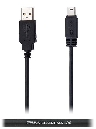 Cable Up by Vu USBA-USBMB-6 6 ft USB Type A to USB Mini Type B Extension Cable USBA-USBMB-6