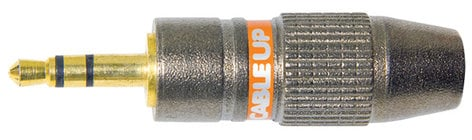"""Cable Up by Vu 18TRSM-C 1/8"""" Male TRS Connector 18TRSM-C"""