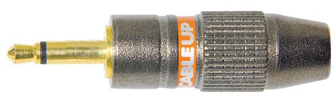 """Cable Up by Vu 18TSM-C 1/8"""" Male TS Connector 18TSM-C"""