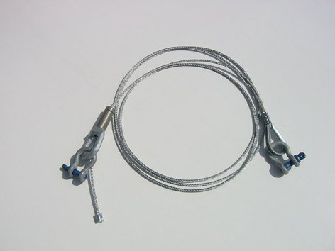 ATM/Adaptive Technologies CC-096-S Cable Coupler, 8ft adjustable,  Silver CC-096-S