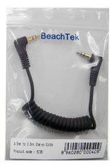 BeachTek SC35 Cable, 3.5mm to 3.5mm, Replacement SC35-BEACHTEK