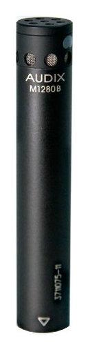 Audix M1280B-O Miniature Condenser Mic, 40Hz-20kHz, Omni M1280B-O