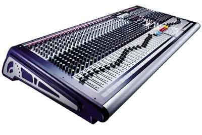 Soundcraft GB4-40 40 Channel Mixing Console (32 channel version shown) GB4-40