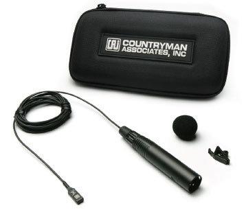 Countryman M2OP6FF10 Omni Directional Mic, Isomax 2, Standard Gain, XLR3 Male M2OP6FF10