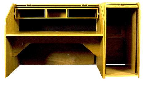 HSA Rolltops INSHRE-II  High Rise Extended Rolltop Desk INSHRE-II