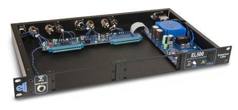 Empirical Labs, Inc EL500 1RU, 2 module capacity rack for API 500 series compatible modules EL500