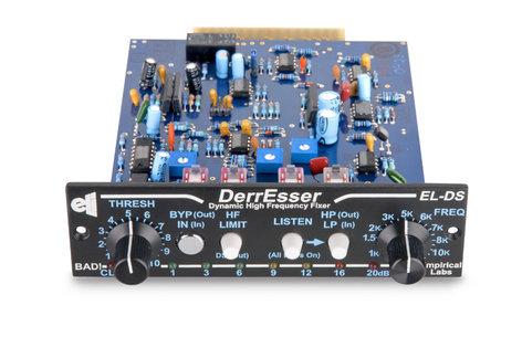 Empirical Labs ELDS-H-DERRESSER 500 Series Module - Desser/Dynamic section from LilFrEQ, Horizontal configuration ELDS-H-DERRESSER