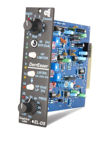 Empirical Labs, Inc ELDS-V-DERRESSER 500 Series Module - Desser/Dynamic section from LilFrEQ, Vertical configuration ELDS-V-DERRESSER