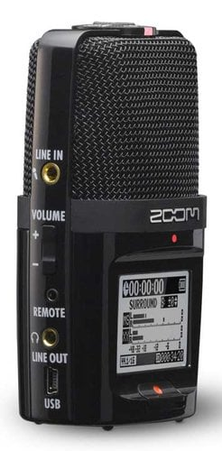 Zoom H2n Zoom H2n Handheld Recorder With 4 Channel
