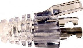 Platinum Tools 100035  Bag of 50 EZ-RJ45 Cat5e Strain Relief Connectors 100035