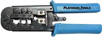 Platinum Tools 12503C  All-in-One Modular Plug Crimp Tool 12503C