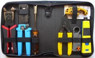 Platinum Tools 90124  Twisted Pair & Coax Termination Kit 90124