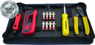 Platinum Tools 90202  CCTV Connectivity/BNC Tool Kit 90202