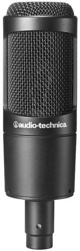 Audio-Technica AT2035 Large Diaphragm Cardioid Condenser Microphone AT2035