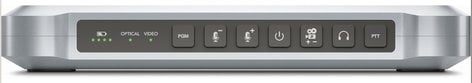 Blackmagic Design ATEM Camera Converter Battery Powered Optical Fiber Converter and Extender with Talkback, Tally, and Microphone Inputs ATEM-CAMERA-CONVERTR