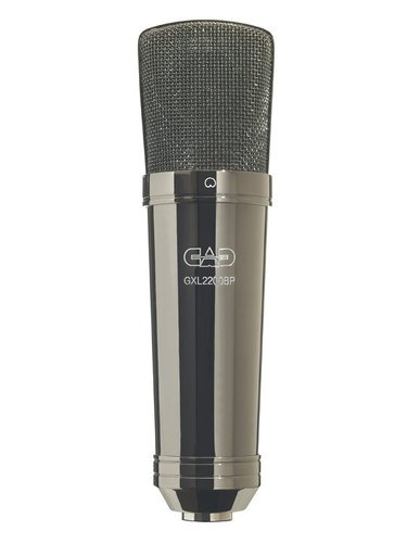 CAD Audio GXL2200BP Cardioid Large Diaphrgm Condenser Mic, Black Pearl GXL2200BP