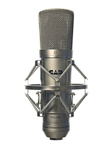 CAD Audio GXL2200-SILVER Cardioid Large Diaphragm Condenser Mic, Silver GXL2200-SILVER
