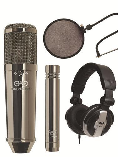 CAD Audio GXL3000BPSP Large Diaphragm Multi-Pattern Condenser Microphone Kit with GXL1200 Cardoid Condenser GXL3000BPSP