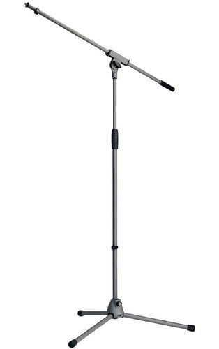 K&M Stands 21060 Microphone Boom Stand in Gray Finish 21060