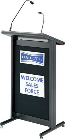 Da-Lite 99661 110 Volt Deluxe Euro Style Lectern 99661