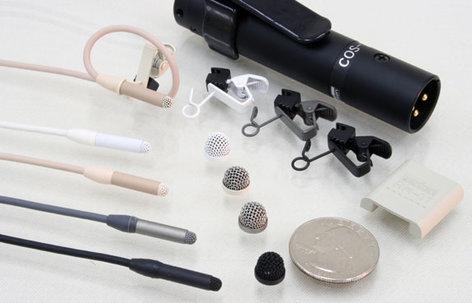 Sanken COS-11D-PT1.8-EW Lavalier Microphone with Connectors for Sennheiser EW Bodypacks COS-11D-PT1.8-EW