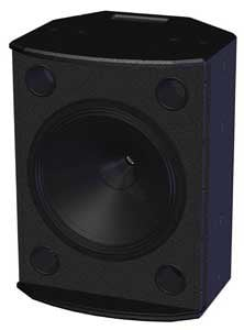 "Tannoy VX15HP-B 15"" Speaker Black, 8001-6390 VX15HP-B"