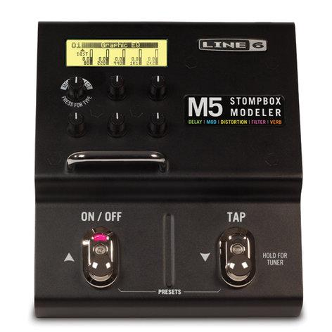 Line 6 M5 Stompbox Modeler M5