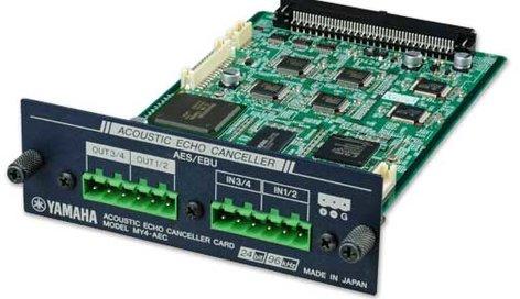 Yamaha MY4AEC Card,AES I/O,4Ch,F/DME24N/64N  MY4AEC-CA