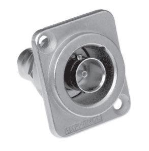 Amphenol AC-BNC-JJ-75 Bulkhead Adapter, Iso, D Shell AC-BNC-JJ-75