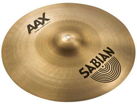 "Sabian 21808X 18"" AAX Stage Crash Cymbal in Natural Finish 21808X"