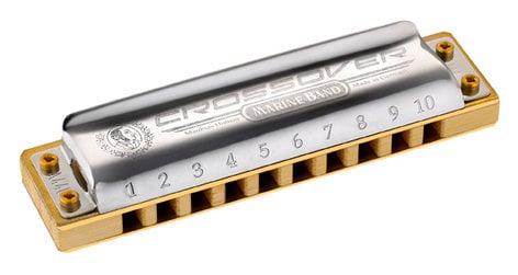 Hohner M2009BL Crossover Harmonica M2009BL