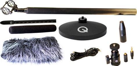Que Audio Sniper Mini Shotgun Microphone Kit QSNIPER-KIT