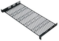 Middle Atlantic Products UFA-8-F1  Universal Face-After Shelf with 1RU Panel UFA-8-F1