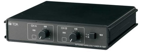 TOA IR-702T Tuner, 2-Channel, Requires a Receiver IR702T