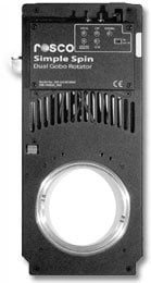 Rosco Laboratories SIMPLE-SPIN Dual Gobo Rotator SIMPLE-SPIN