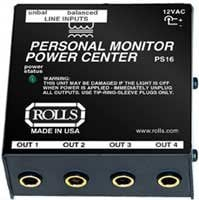 Rolls PS16 Personal Monitor Power Center PS16