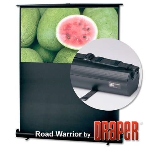 "Draper Shade and Screen 230001  Road Warrior, 36"" x 48"",  NTSC, Matte White 230001"