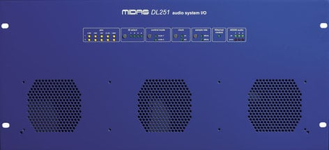 Midas DL251 5RU Fixed 48 Input x 16 Output Stage Box DL251-MIDAS