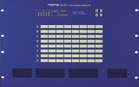 Midas DL351  7RU Modular I/O Box DL351