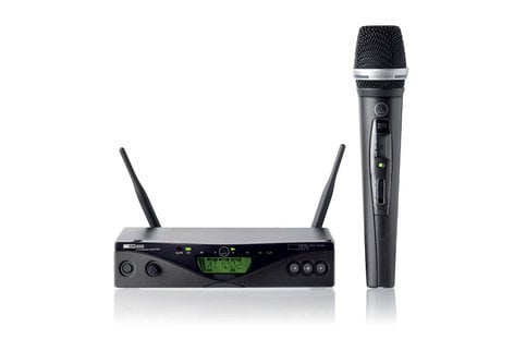 AKG WMS470-C5/VOCAL UHF Wireless System with Handheld C5 Transmitter WMS470-C5/VOCAL