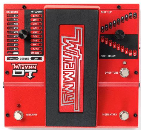 DigiTech Whammy DT Whammy pedal w/drop tuning WHAMMY4-DT