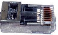 Platinum Tools 100020 50-Pack of EZ-RJ45 Cat5e Connectors 100020-PLATINUM