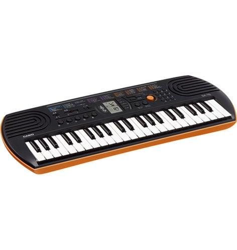 Casio SA-76 44-Key Keyboard with 100 Tones & 50 Rhythms SA76