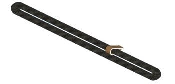 "ATM/Adaptive Technologies BS3-60X4  48"" Steel Strand Span Set  BS3-60X4"