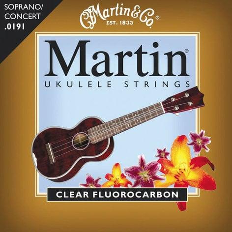Martin Strings M600 Soprano Ukulele Fluorocarbon Strings M600-MARTIN