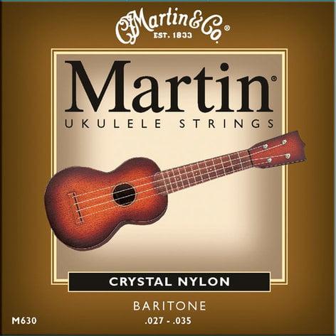 Martin Strings M630 Baritone Ukulele Fluorocarbon Strings M630-MARTIN